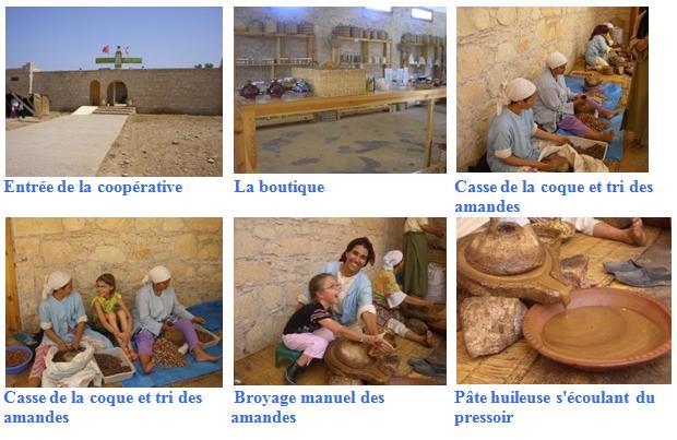 Visite de l'éco-musée de la coopérative de femme, productrice de l'huile d'argan : Argan Tro'cher argan